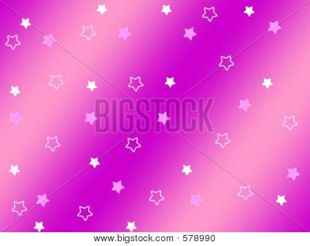 STARS ON PURPLE