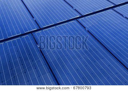 Solar Panels Background