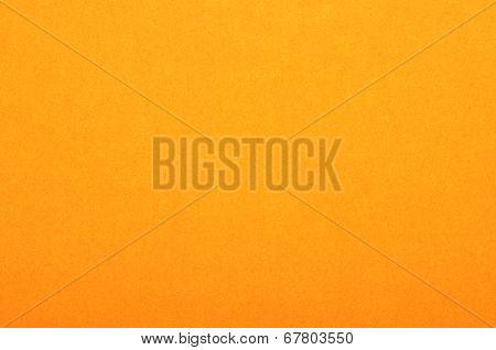 Close Up Of Orange Colored Paper Texture