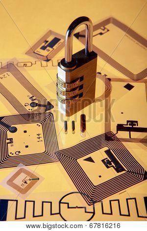 Cypher lock on RFID tags