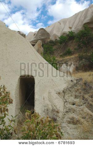 Doorway To The Cave-house In Cappadocia
