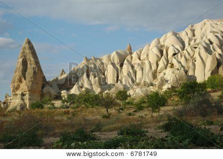 Amazing Tuff Formations In Cappadocia