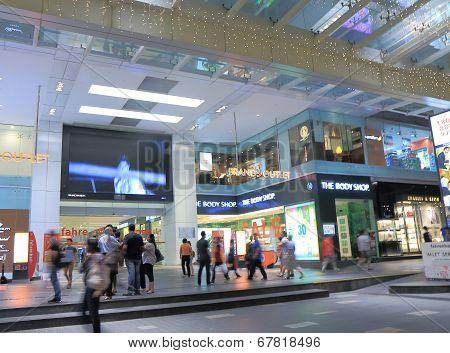 Shopping mall Bukit Bintang Kuala Lumpur