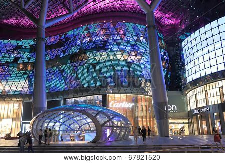 Modern architecture building Orchard Road Singapore