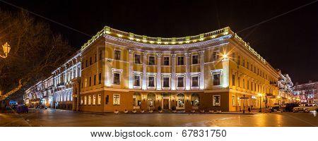Buildings On Primorskiy Bulvar In Odessa, Ukraine