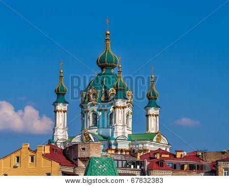 Cupola Of St Andrew's Church - Kyiv, Ukraine