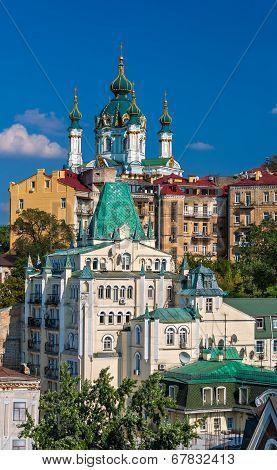 View Of St Andrew's Church - Kyiv, Ukraine