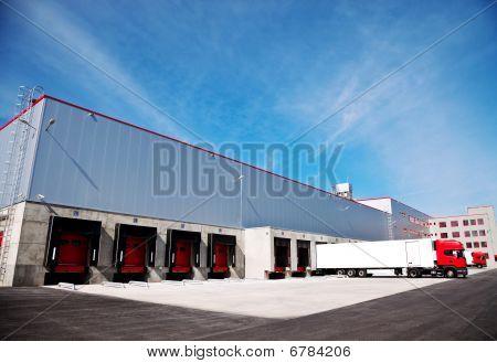 Logistics Building Truck