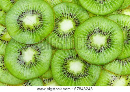 Background With Fruit Kiwi