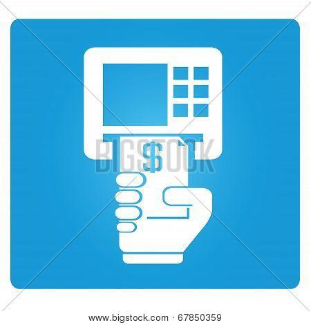 ATM, money machine