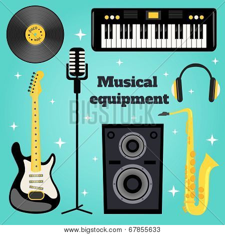 Music equipment set