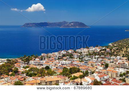 Town Kas, Mediterranean Coast, Turkey