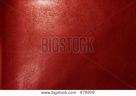 Red Leather Texture
