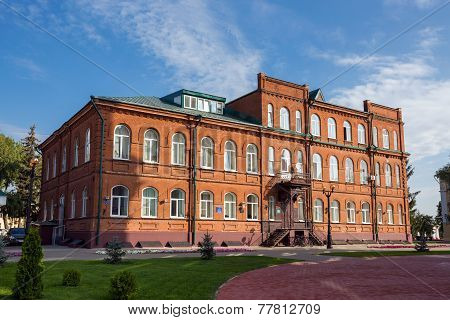 Russia. Tambov. Building High School #7