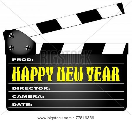 Happy New Year Clapper