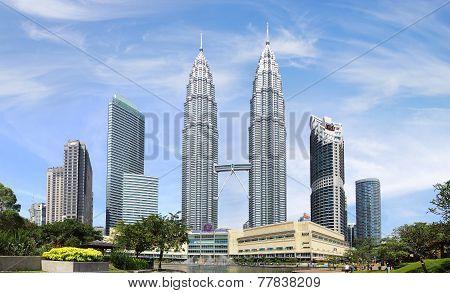Petronas Twin Towers. Kuala Lumpur, Malaysia.