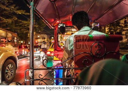 Inside A Tuktuk