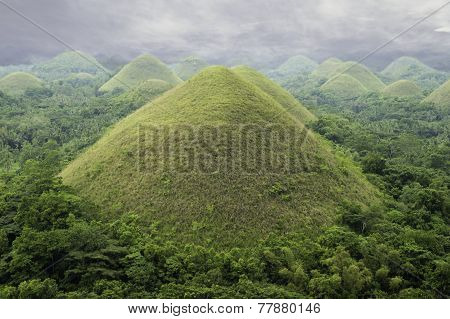 Philippines Bohol Famous Chocolate Hills