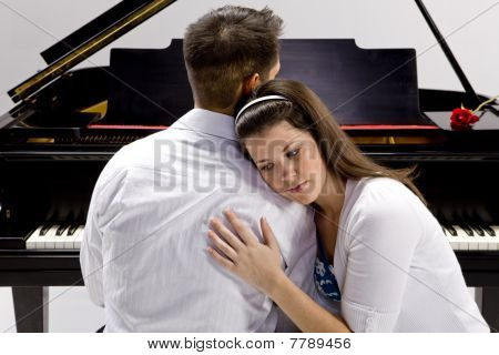 Couple With Grand Piano 3