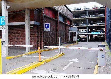 image of a multilevel parking