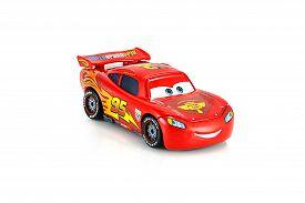 Lightning Mcqueen Main Protagonist Of The Disney Pixar Feature Film Cars.
