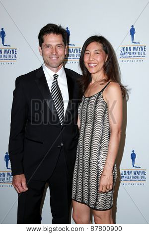 LOS ANGELES - FEB 11:  Maggie Dinome MD at the 30th Annual John Wayne Odyssey Ball at the Beverly Wilshire Hotel on April 11, 2015 in Beverly Hills, CA