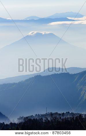 Bromo Volvano In Indonesia