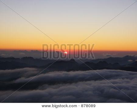Sunrise On A Moses Mount