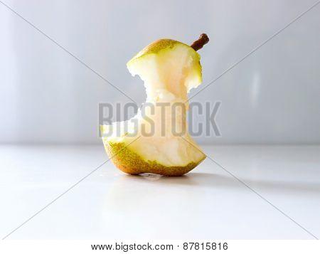 Pear nibble.