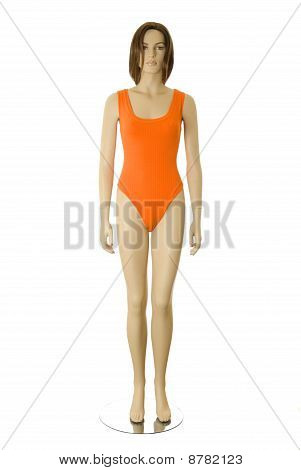 Mannequin In Swimsuit | Isolated