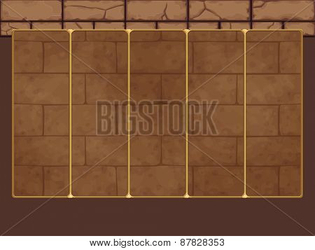 Background for slots game. Vector illustration