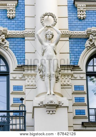 Jugendstil House In Riga, Latvia
