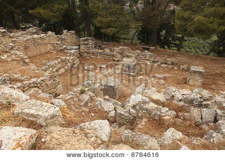 Excavaciones en Creta