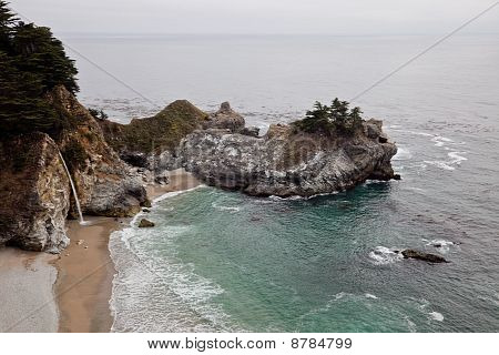 McWay Falls,  located in Big Sur, in Monterey County, California