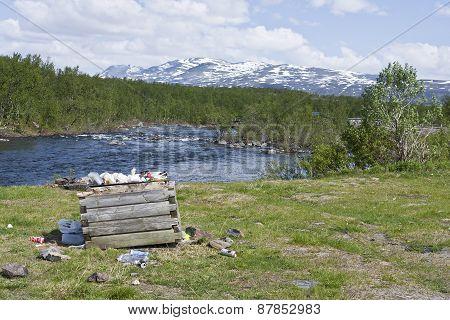 LAPLAND, SWEDEN ON JUNE 16