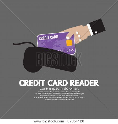 Credit Card Reader.