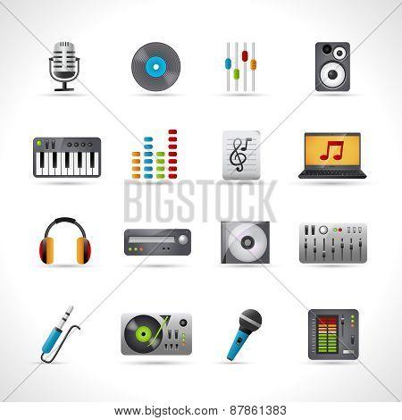 Dj Icons Set