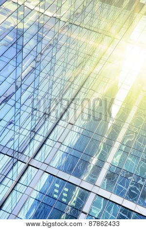 Office buildings - modern architectural and business background