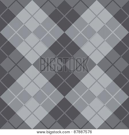 Argyle Design in Grey