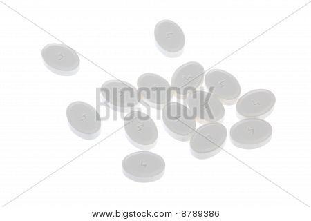 Weisse Pillen