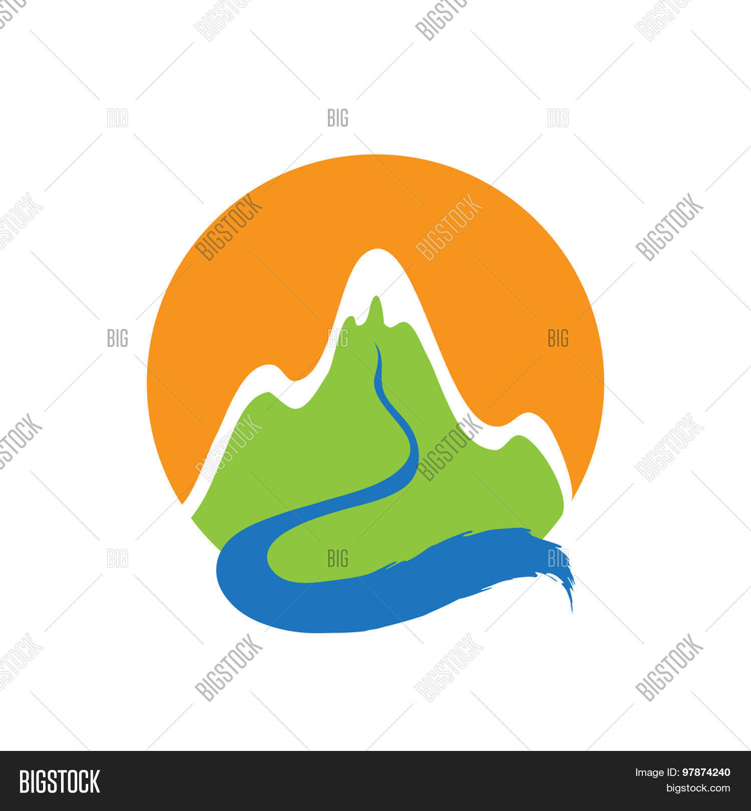 mountain river vector photo free trial bigstock mountain river vector photo free