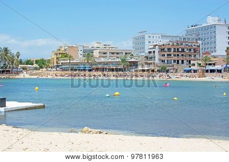 Sandy Beach At Cala Estancia