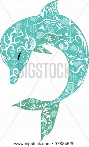 dolphin turquoise