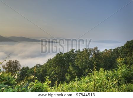 View Above The Clouds, Blue Ridge Parkway