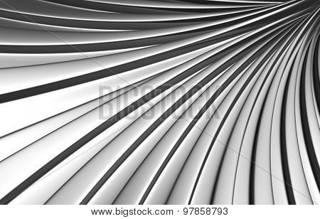Abstract silver background 3d illustration