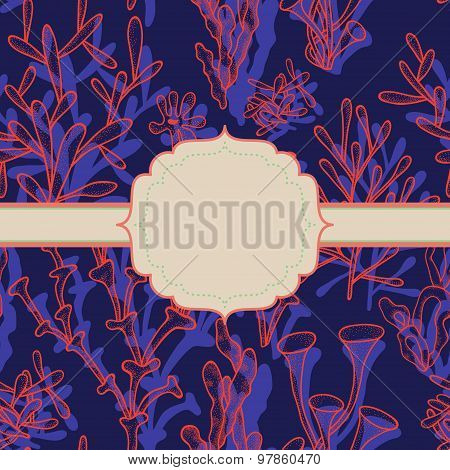 Bright Abstract Background With Frame
