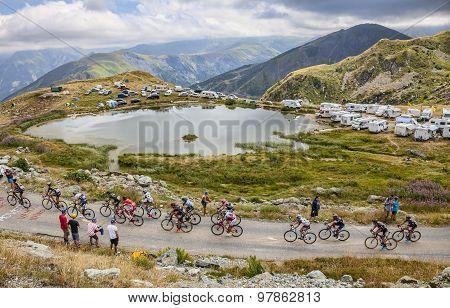 The Peloton In Mountains