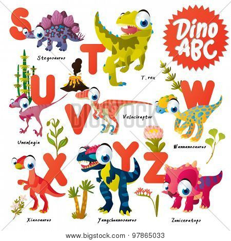 Dinosaur ABC, S to Z