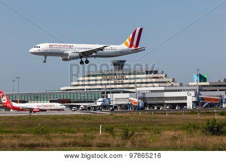 Germanwings Aircraft At Cologne Airport