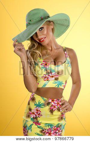 Beauty Summer Lady
